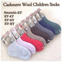 Children Cashmere Wool Socks for Autumn or Winter Photo