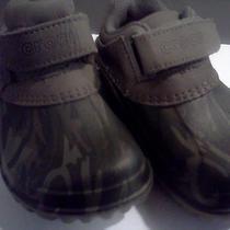 Children Crocs Cammo Extremely Light Use on Them.  Photo