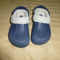 Children Crocs Size 12 Blue Photo