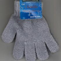 Children Gloves Chenille Magic Gray by Gold Medal One Size New Photo