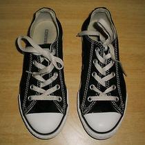 Children's Black Converse Size 2 Photo