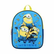 Children's Minions Express Yourself Blue Backpack Photo