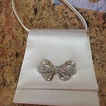 Children's White Purse With Bow Embellishment Photo