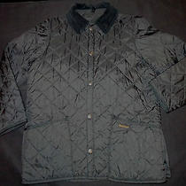Childrens Barbour Liddesdale Quilted Jacket Xxl Black Photo