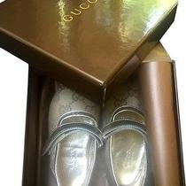 Childrens Gold Gucci Dress Shoes Photo