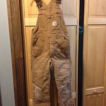 Childrens Insulated Carhartts Size 10-12 Photo