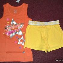 Childrens Place - Size 7/8-2 Piece Tank and Short Set -Shine Star-- Nwt  Photo