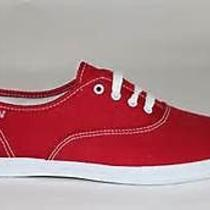 Childrens Red Keds Shoes Photo