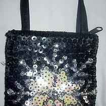 Childrens Sequin & Satin Shining Star Purse New Photo