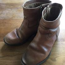 Childrens Vintage Frye Boots Size 4 Brown Photo