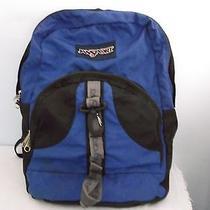 Childs Blue Jansport Back Pack Book Bag Photo