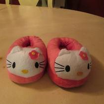 Childs Hello Kitty Bedroom Shoes Nwot Photo