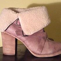 Chinese Laundry 10 M Big Deal Camel Faux Fur Ankle Boots New Womens Shoes  Photo