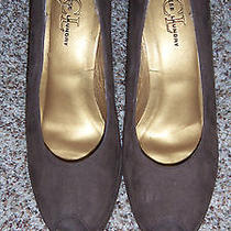 Chinese Laundry Brown Micro Suede Platform Pumps Size 9 (2545) Photo