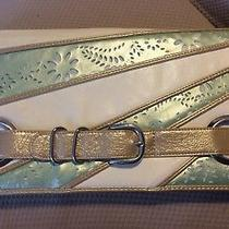Chinese Laundry Envelope Clutch Purse Mint Green/beige. Photo