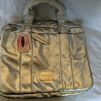 Chinese Laundry Laptop Bag Silver Blue New Vintage 13
