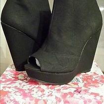 Chinese Laundry Mix Tape Womens Boots Shoes Sz 8.5 Nib Photo