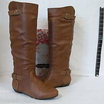 Chinese Laundry Size 6 M Nice Shot Cognac Knee High Boots New Womens Shoes  Photo
