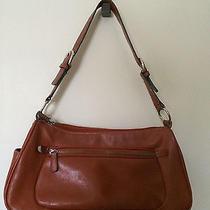 Chinese Laundry Small Pumpkin Orange Rust Shoulder Bag Purse Handbag Photo