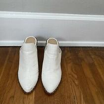 Chinese Laundry White Mule With Studs Size 10  3