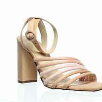 Chinese Laundry Womens Jonah Blush Multi Suede Ankle Strap Heels Size 7.5 Photo