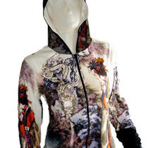 Chinese Queen Empress Dragon Hoodie Jacket Sweater Shirt Fancy Asian Art Print Photo