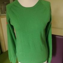 Chinti and Parker- Green Star Cashmere Jumper -Size M- Vgc Photo
