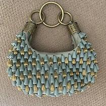 Chloe 2002 Rare Bag With Brass Bugles and Bracelet Handle Photo