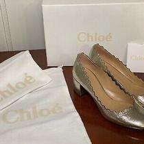 Chloe 595 Silver Grey Glitter