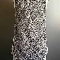 Chloeauth Silk Cotton Fish Tail Blouse Tank Top Sz M Photo