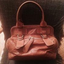 Chloe Bag Cognac Leather Bag Photo