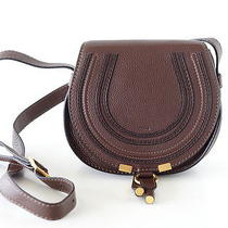 Chloe Bag Small Marcie Coffee Shot Shoulder Cross Body Nwt Photo