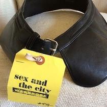 Chloe Black Leather Belt Photo