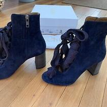 Chloe Blue Lagoon Ankle Boots Size 38.5 Photo