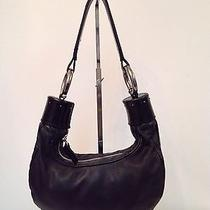 Chloe Bracelet Bag in Black Leather Small Shoulder Bag  Photo