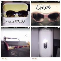Chloe Brown Cat Eye Sunglasses Brown Photo