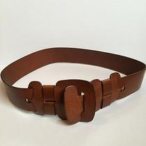 Chloe Brown Leather Belt Italy New Authentic  Photo