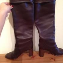 Chloe Brown Leather Boots Photo