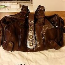 Chloe Brown Leather Satchel Photo