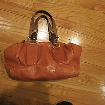 Chloe Camel Brown Leather Tote Bag Photo