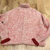Chloe Chunky Knit Red Pullover. Bnwt. Size S. Rrp1100. Sold Out Photo