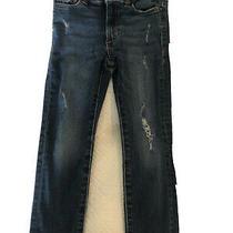 Chloe Dl 1961 Skinny Girls Distressed Denim Jeans Size 5 Photo
