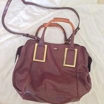 Chloe Ethel Bag Wine Leather Photo