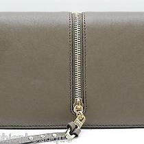 Chloe Ghost Vertical Zipper Envelope Wallet Anchor Grey Nwt and Box Retail 630 Photo