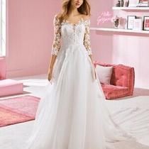 Chloe - Ivory Wedding Dress - Size 20 - Nwt Photo