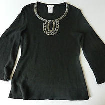 Chloe Jumper With Gold Embellishment  Photo