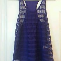 Chloe K Purple Fish Net Tank Small Photo