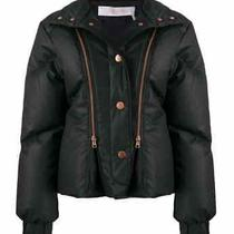 Chloe Ladies Black Quilted Down Puffer Jacket Photo