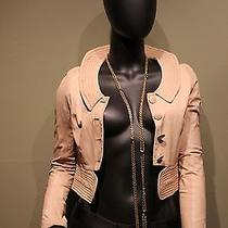 Chloe Lamb Skin Jacket Pink Photo