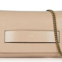 Chloe Lambskin Elle Clutch With Gold Chain Strap Blush (Art. 3s1154h1p003) Photo